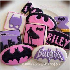 Batgirl cookies!