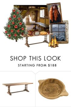 """""""🎄 Christmas / Fainche"""" by mochineko ❤ liked on Polyvore featuring interior, interiors, interior design, home, home decor and interior decorating"""