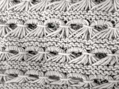 Gorros de lana: Fotos de modelos - Cuello de lana de punto de caracol
