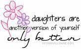 Love my daughters