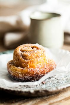 My favourite pastry with coffee - Morning Buns