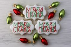Merry Christmas by Artfully Delicious Cookies, via Flickr