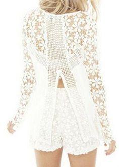 lovely lace blouse
