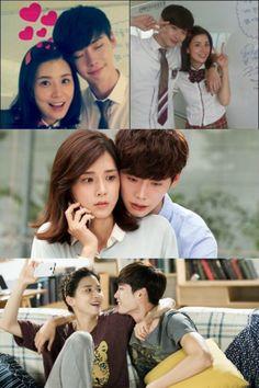 "SBS ""I Can Hear Your Voice"" Lee Jong Suk (Park Soo Ha) and Lee Bo Young (Jang Hye Sung)"