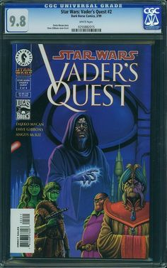 Star Wars Vader's Quest 2 CGC 9 8 Dave Gibbons Cover and Art | eBay