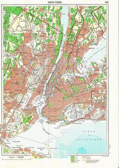 New York #map #nyc #newyork $12