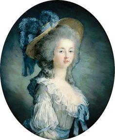 Joseph Boze - Portrait of Marie Louise of Savoy (Marie-Thérèse Louise de… Sophia Coppola, Victorian Pictures, Portrait Wall, Lady In Waiting, Miniature Portraits, 18th Century Fashion, 11th Century, Old Paintings, Joseph