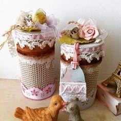 I S: Caixinha vintage reciclagem rolinho de papel higiê...