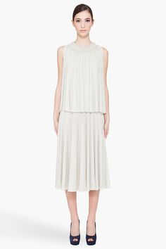macrame neck dress ++ chloe