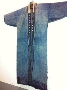 End of 19th century Japanese Kimono made of Denim @ Blue Jeans Exhibition, Centraal Museum Utrecht