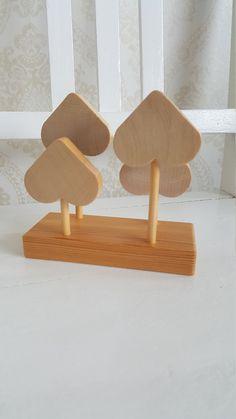 Finnish Vintage Aarikka wooden napkin holder from Wooden Crosses, Letter Holder, Marimekko, Napkins, Place Card Holders, Lettering, Etsy, Vintage, Wood Crosses