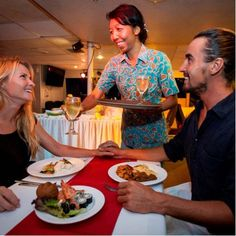 There's no better way to spend a tropical evening in Bali than on Bali Hai Sunset Dinner Cruise. Bali Cruise, Sunset, Dinner, Dining, Food Dinners, Sunsets, The Sunset, Dinners