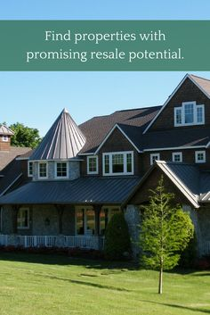 Find properties with promising resale potential.