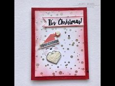 Christmas Card with Embellishment Mousse