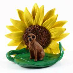 Collectible Spring Home Office Decor Sunflower Figurine 228 Dog Breeds to Choose Mini Pinscher, Doberman Pinscher Dog, Pet Gifts, Dog Lover Gifts, Dog Lovers, Great Dane Fawn, Black Doberman, Petit Basset Griffon Vendeen, Miniature Dogs