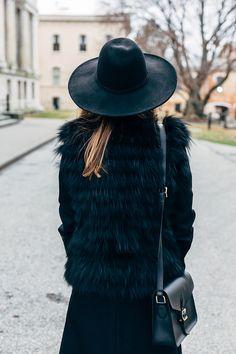 Instagram @MARGOANDME // Back in Black