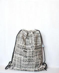 Turnbeutel  - Rucksack - ein Designerstück von gemengsel bei DaWanda