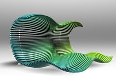 Happy Chaise Longue by Dima Loginoff, via Behance