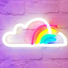 This week will mostly be spent searching for rainbows ❤️ LED neon by @loveincltd