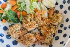 Garlic Parmesan Shrimp Shrimp Dishes, Fish Dishes, Shrimp Recipes, Fish Recipes, Main Dishes, Meat Recipes, Top Recipes, Cooking Recipes, Healthy Recipes