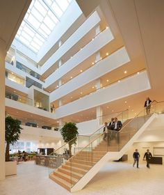 Microsoft building by Henning Larsen Architects based on a paper written by Bill Gates