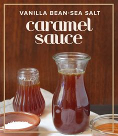 Searching for the perfect gift this holiday season? Whip up this vanilla bean-sea salt caramel sauce.
