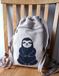 i NEED a sloth backpack!!!