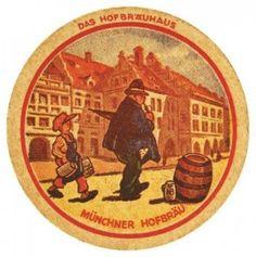 Cerveja Muncher-Hofbrau bolacha de chopp temática