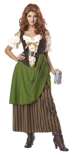 Amazon.com: California Costumes Tavern Maiden Adult Costume: Adult Sized Costumes: Clothing Halloween costumes adults