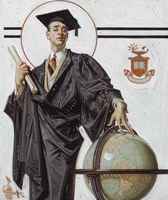 Joseph Christian Leyendecker. June Graduate