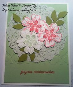 Stampin Up estampe Flower Shop et Petite Petals