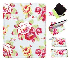 SHABBY CHIC rose ipad cover ipad air cover by superpowerscases