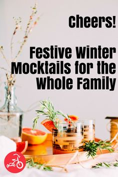 These winter mocktails are just the thing for a holiday gathering (or a fun after-school treat), and they're a delicious way to get cozy on the quick. #mocktails #wintermocktails #alcoholfree #cocktails