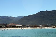 Fish Hoek beach from walkway by flowcomm, via Flickr