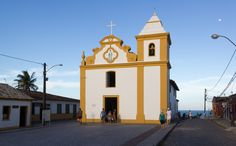 - Igreja Matriz de Nossa Senhora d'Ajuda, Arraial d'Ajuda, Bahia Brazil -