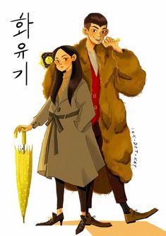 Fan Art.  #LeeSeungGi #Hwayugi #OhYeonSeo