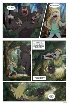 Next -riafire.deviantart.com/art/Rev… In this version Reverse!Multibearis really dangerous creature that maltreats almost everyone in the forest and wants to kill manotaurs (the ...