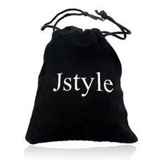 Jstyle Bracelet homme Cuir cordon Bracelet Tress Tribal – 21cm de longueur