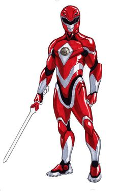 A more warrior version of the Red Ranger