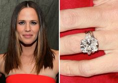 Captivating Actress Jennifer Garner Wed Ben Affleck In A Private Ceremony In The  Caribbean In He Proposed With A Diamond Ring.