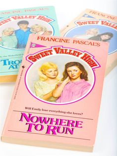 """Sweet Valley High    There were approximately 50 jillion """"Sweet Valley High"""" books in the 1980s. Liz was always a goody-goody, Jessica always a bit of a brat, and their sunny California town was teeth-shatteringly perfect."""