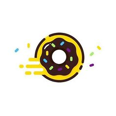 Donut by @madebyelvis Visit our ship for more artworks @pirategraphic #donuts…
