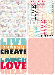 Free #ProjectLife cards for your #Silhouette: week 23!