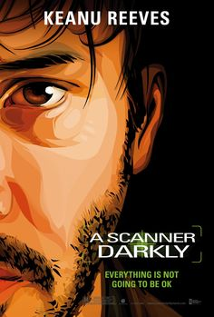 A Scanner Darkly , starring Keanu Reeves, Winona Ryder, Robert Downey Jr., Rory Cochrane. An undercover cop in a not-too-distant future becomes involved with a dangerous new drug and begins to lose his own identity as a result. #Animation #Crime #Drama #Sci-Fi