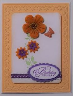 Birthday Card, Creative Charms embellishments, StampinUp