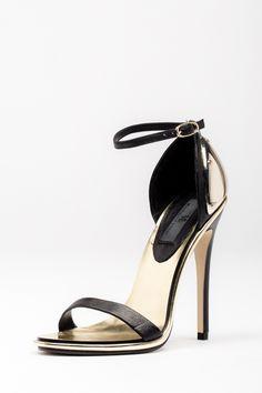 MIA Lenny Heel | Bohme Boutique | Gold strappy heel