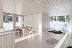Four-cornered Villa, Virrat FInland: Avanto Architects