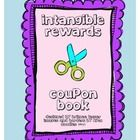 """Many teachers spend money from their own pockets to reward students for doing the right thing. With this intangible rewards coupon book, students will receive rewards like """"rent the rolling chair for one week"""" or """"choose some music for a fun activity"""" without breaking the bank!"""