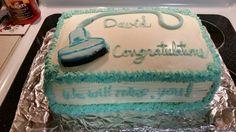 Ultrasound graduate cake