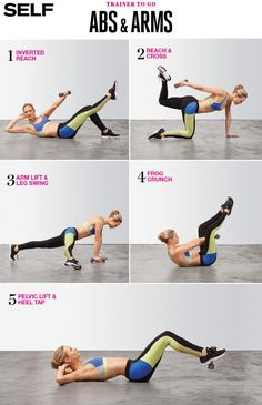 TRANSFORM YOUR ARMS AND ABS IN 5 MOVES